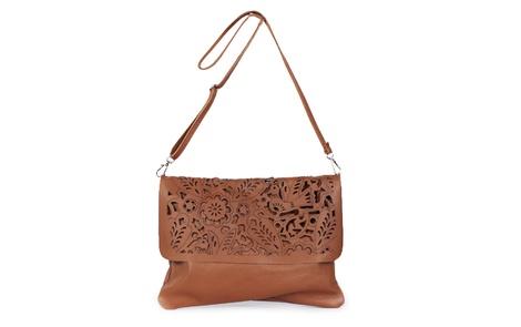 flower handbag tan strap