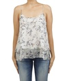 floral catherine singlet white A