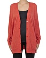Cara cardigan rust open copy