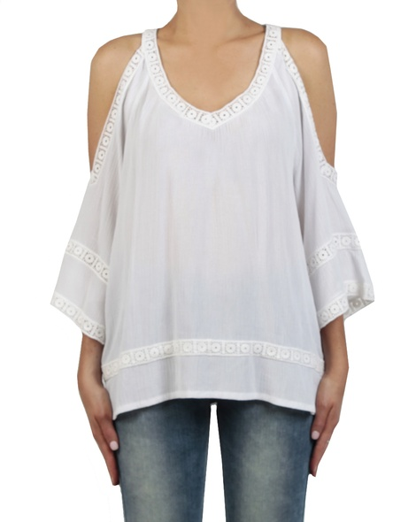 Misha top White