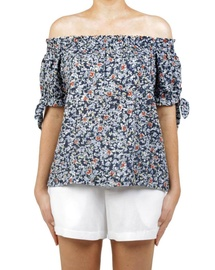 Floral Polly Top