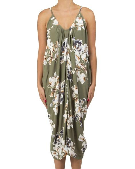 floral peony dress A