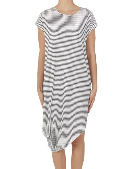 stripey shiloh dress A