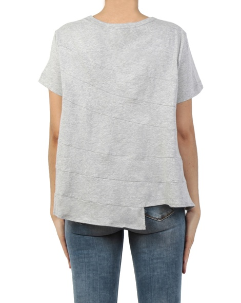 Stirred Tee grey back jean
