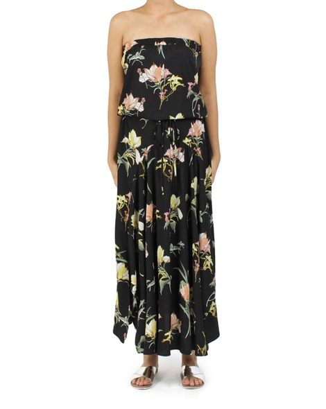 floral loveland dress black A new