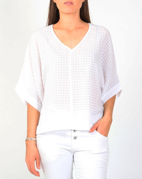 Ciara top white A