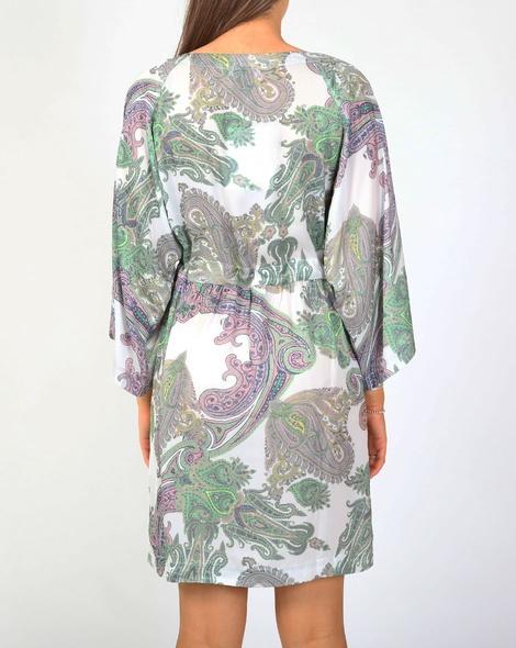 paisley lotus dress B