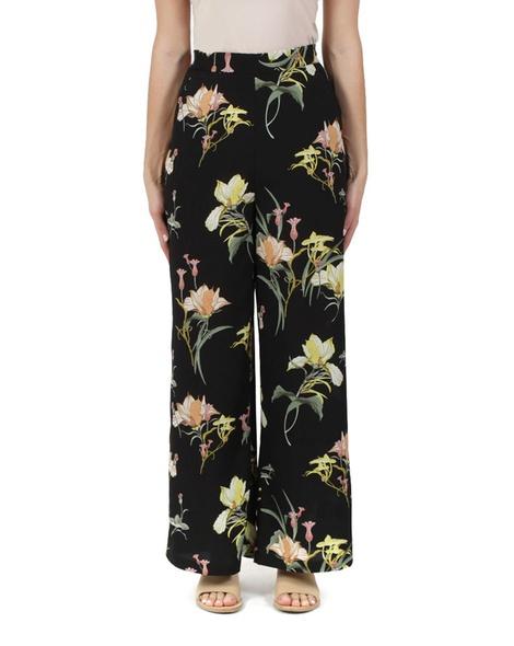 floral saki pant black A