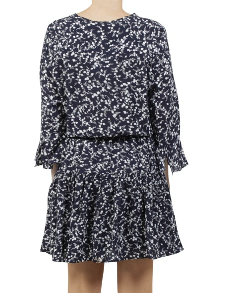 printed maddison dress navy B