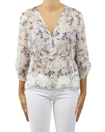Floral Catherine Top