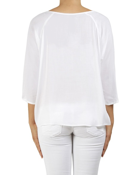 joelle top white B