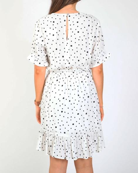 Tara spot dress B
