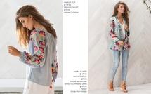 AMALIA TOP  & AMIRA BLAZER price edit