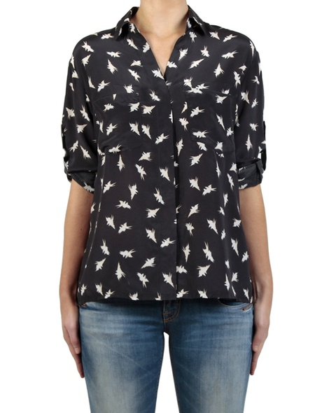 Turtledove shirt front sleeves