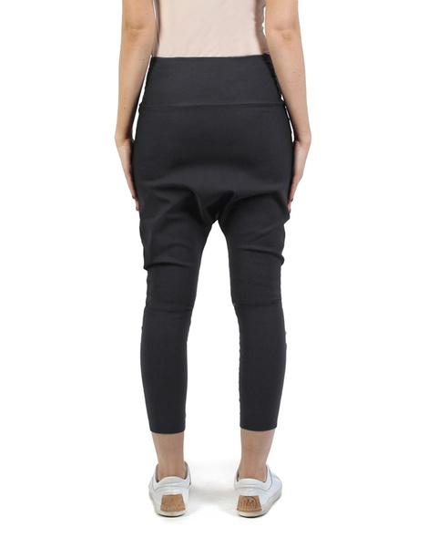 Twill Milano pant black back