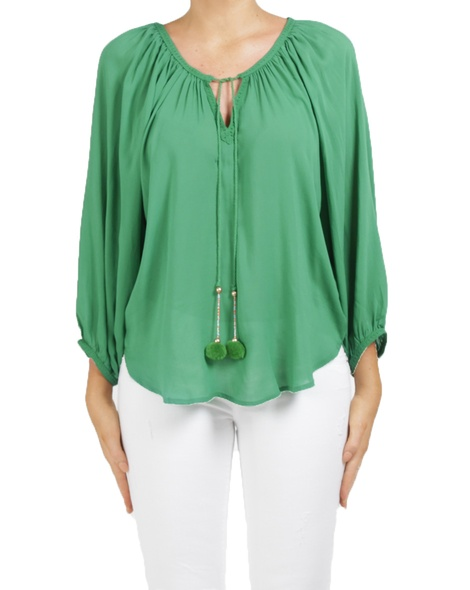 mandalay top green A