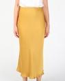 Yelena slip skirt mustard A
