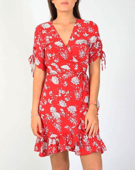 Jacinta dress red A