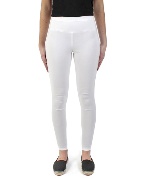 skinny cigarette pant white front