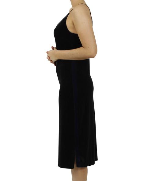 Rae velvet slip dress C