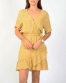 Tara dress mustard A