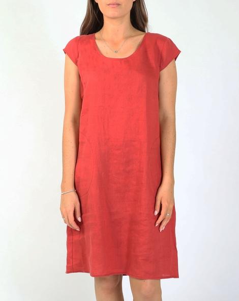 Bronte dress red A