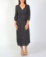 Spotty dorthea dress blk A new