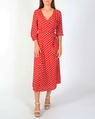 Spotty dorthea dress red A new