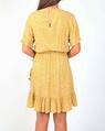 Tara dress mustard B