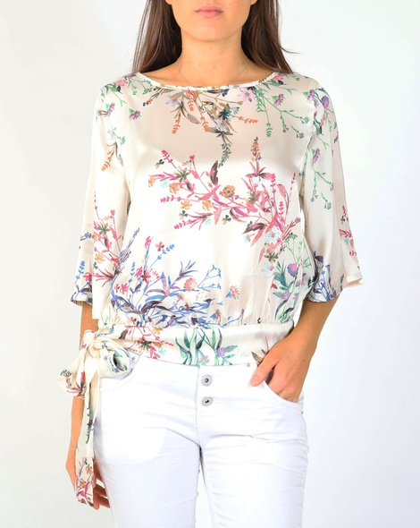 Floral Origami Top Picnic Clothing
