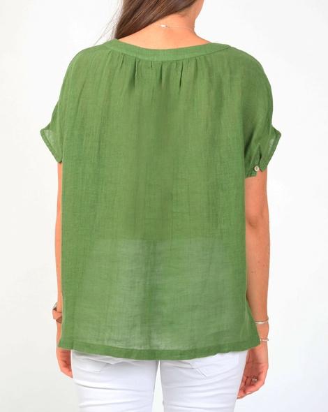 Amalfi top green B