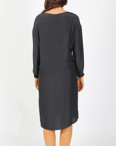 Vivienne dress charcoal B