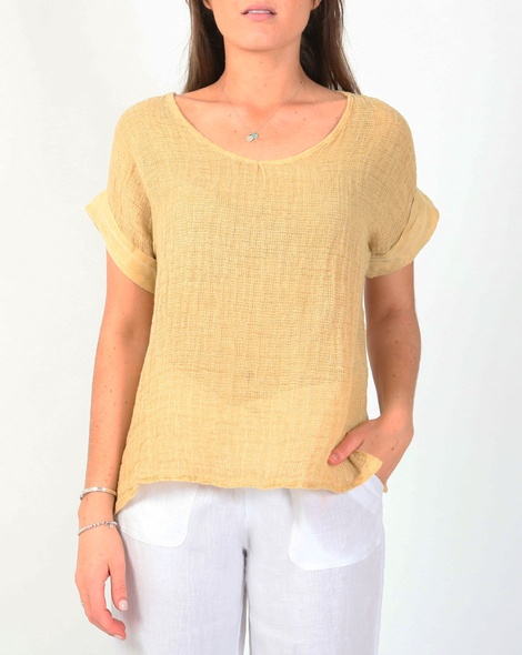 Sahara tee yellow A