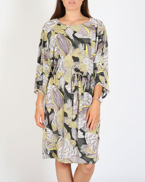 Lotus midi dress A