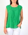 Annie top green A