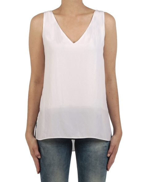 Kendall tank ivory front