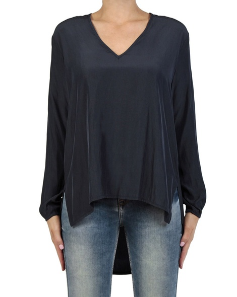 Muriel Top navy front