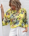 Floral lots top yellow (54)
