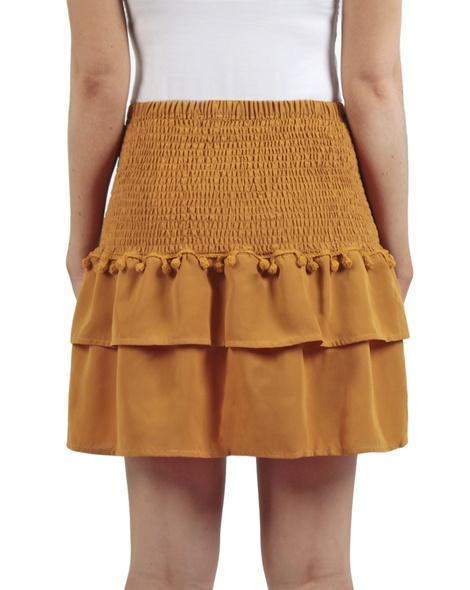 Ivy Skirt mustard back copy