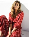 Spotty dorothea dress red 2