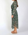 Audrina dress green C