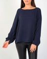 Portia top navy A