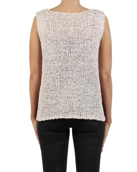 Pippa vest natural back