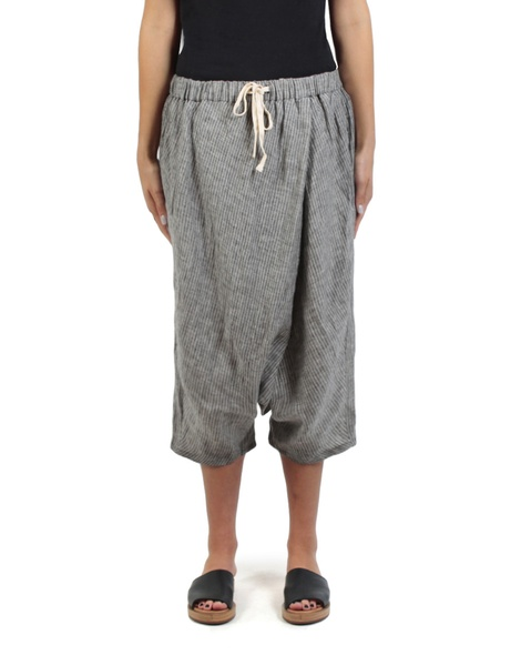 Moroccan pant charcoal front copy