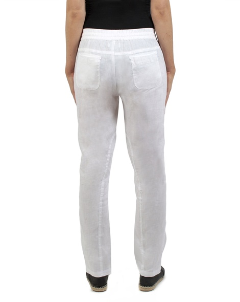 Elliot linen pant white back copy