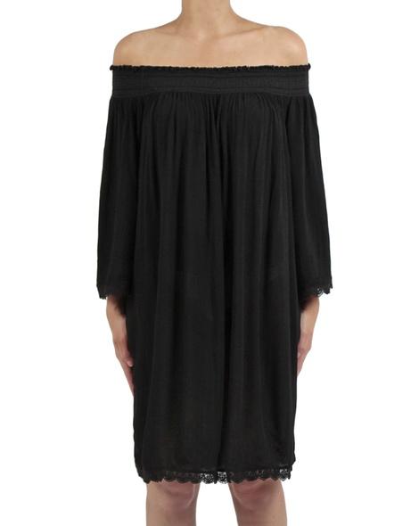 Majorca dress black front