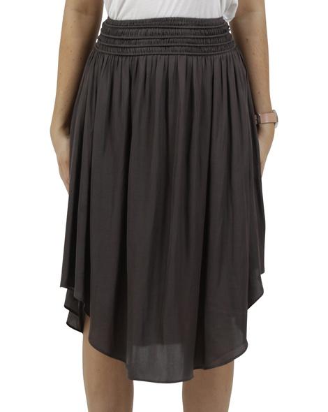 Priscilla skirt charcoal A
