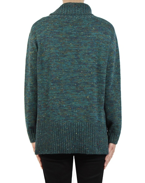 Malina Jumper Teal back