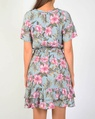 Tropical Libby dress pink B