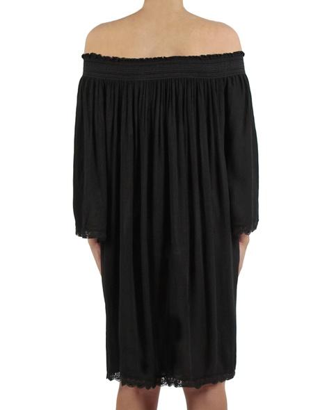 Majorca dress black back copy